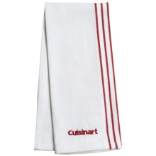 Cuisinart Embroidered Chef's Towel in Red - Closeouts