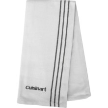Cuisinart Embroidered Chef's Towel in Steel - Closeouts