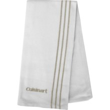 Cuisinart Embroidered Chef's Towel in Tan - Closeouts