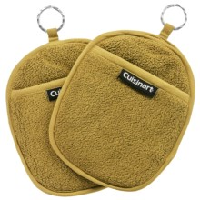 Cuisinart Extra-Thick Terry Pot Holders - 2-Pack in Green - Closeouts