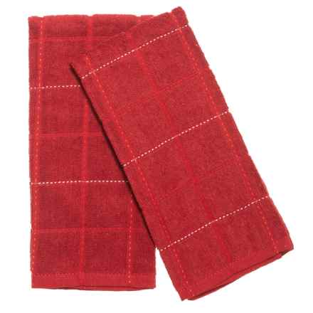 Cuisinart Kitchen Towels - 2-Pack in Red - Closeouts