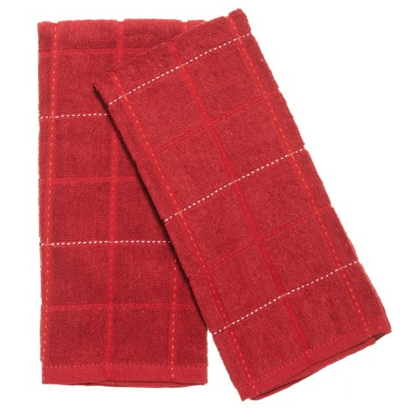 Cuisinart Kitchen Towels - 2-Pack in Red
