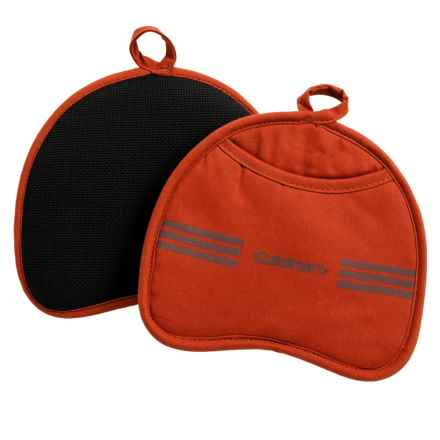 Cuisinart Neoprene Pot Holder - 2-Pack in Pumpkin - Closeouts