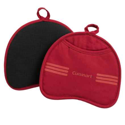 Cuisinart Neoprene Pot Holder - 2-Pack in Red Dahlia - Closeouts