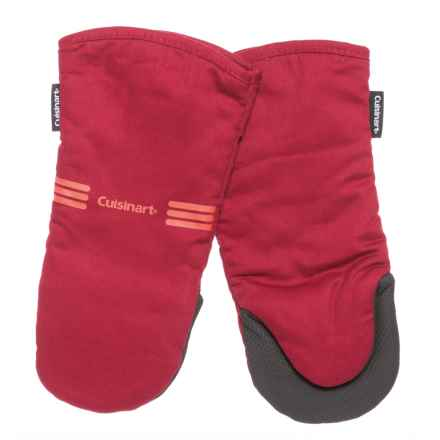 Cuisinart Neoprene Puppet Oven Mitts - 2-Pack in Red - Closeouts