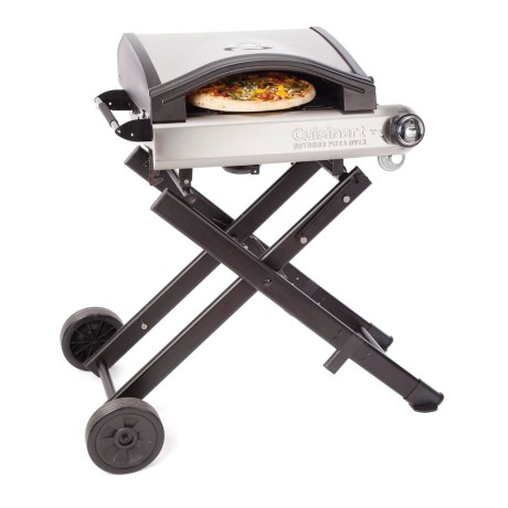 Cuisinart Pizza Oven with Stand in Silver