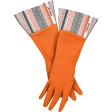 Cuisinart Printed Latex Cleaning Gloves in Arrows Orange - Closeouts
