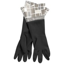 Cuisinart Printed Latex Cleaning Gloves in Mosaic Black - Closeouts