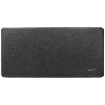 "Cuisinart Solid Anti-Fatigue Cushion Mat - 20x41"" in Black - Closeouts"