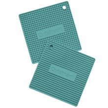 Cuisinart Square Silicone Trivets - Silicone, 2-Pack in Biscal Bay - Closeouts