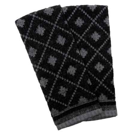 Cuisinart Sweater Kitchen Towels - 2-Pack in Black - Closeouts