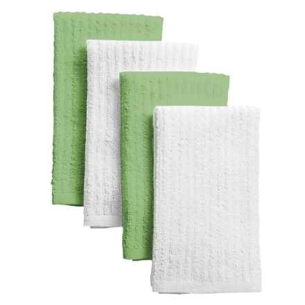 Cuisinart Terry Bar Mop Towels - 4-Pack in Green - Closeouts