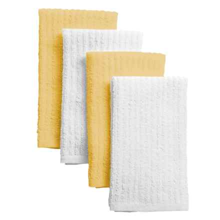 Cuisinart Terry Bar Mop Towels - 4-Pack in Yellow - Closeouts