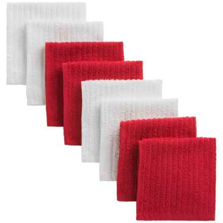 Cuisinart Terry Dish Towels - 8-Pack in Red - Closeouts