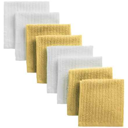 Cuisinart Terry Dish Towels - 8-Pack in Yellow - Closeouts
