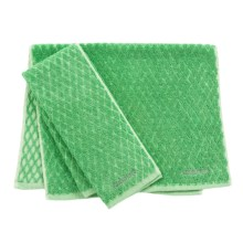 Cuisinart Two-Tone Diamond Kitchen Towel - Pack of 2 in Pistachio - Closeouts
