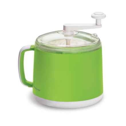 Cuisipro Donvier Ice Cream Maker in Green - Closeouts