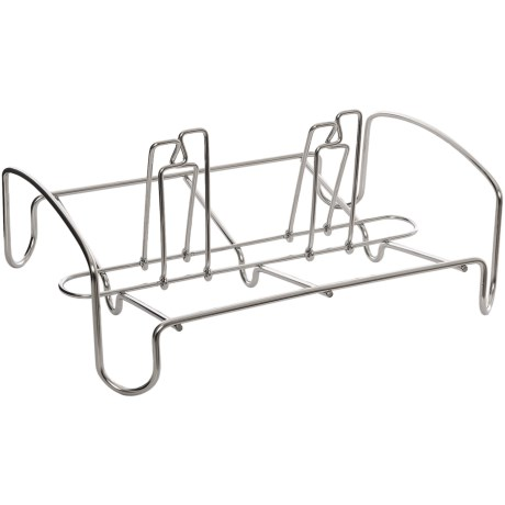Cuisipro Stainless Steel Dual Combo Roaster Rack in Stainless Steel