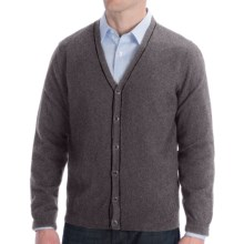 Cullen Cashmere Cardigan Sweater (For Men) in Derby Grey - Closeouts