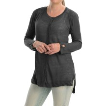 Cullen High-Low Tunic Sweater (For Women) in Black - Closeouts