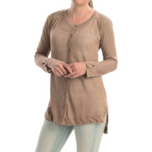 Cullen High-Low Tunic Sweater (For Women) in Sand - Closeouts