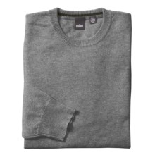 Cullen Solid Crew Neck Sweater - Cashmere (For Men) in Uniform Combo - Closeouts