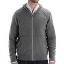 Cullen Zip Hoodie Sweatshirt - Cashmere (For Men) in Derby Grey - Closeouts