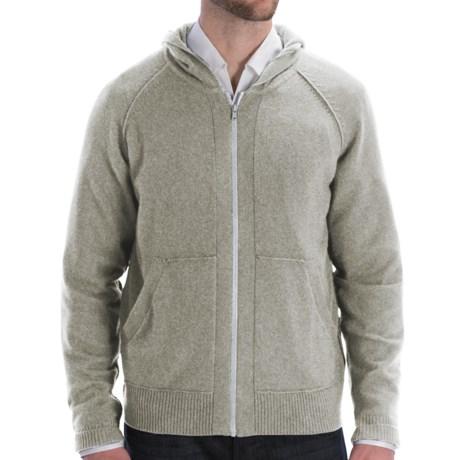 Cullen Zip Hoodie Sweatshirt - Cashmere (For Men) in Derby Grey
