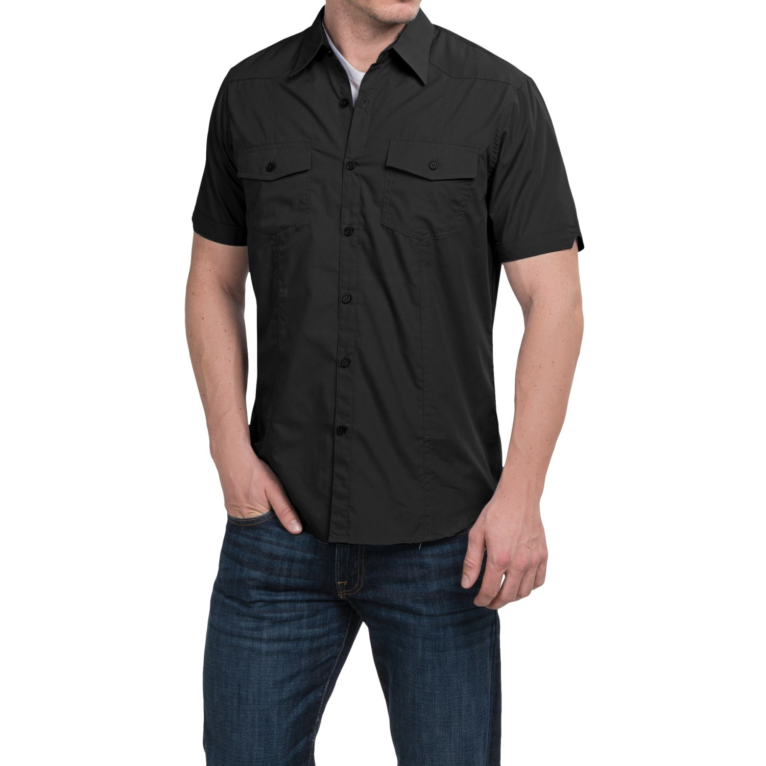 Cultura levi shirt for men save 60 for Levi s short sleeve shirt