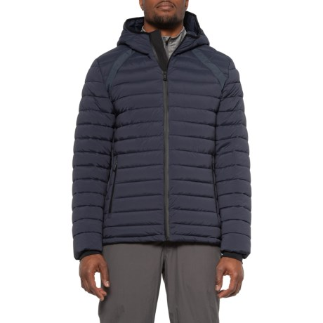 Cumberland Stretch Puffer Jacket - Insulated (For Men) - NAVY (XL )