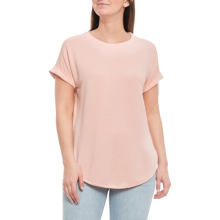 e06e78e88 Cupio Blush Baby Terry Drop-Shoulder Shirt - Short Sleeve (For Women) in