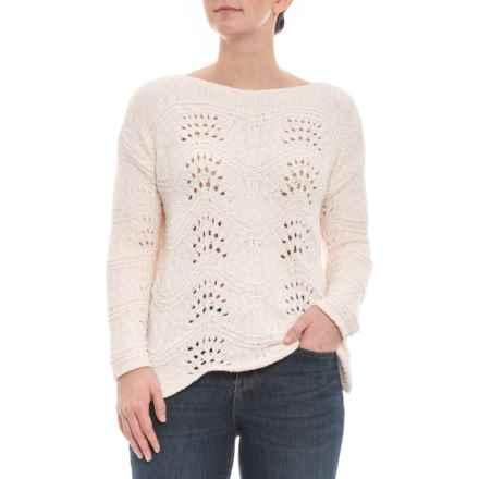 bcc0885b79a722 Cupio Blush Warm Vanilla Boatneck Chenille Sweater (For Women) in Warm  Vanilla - Closeouts