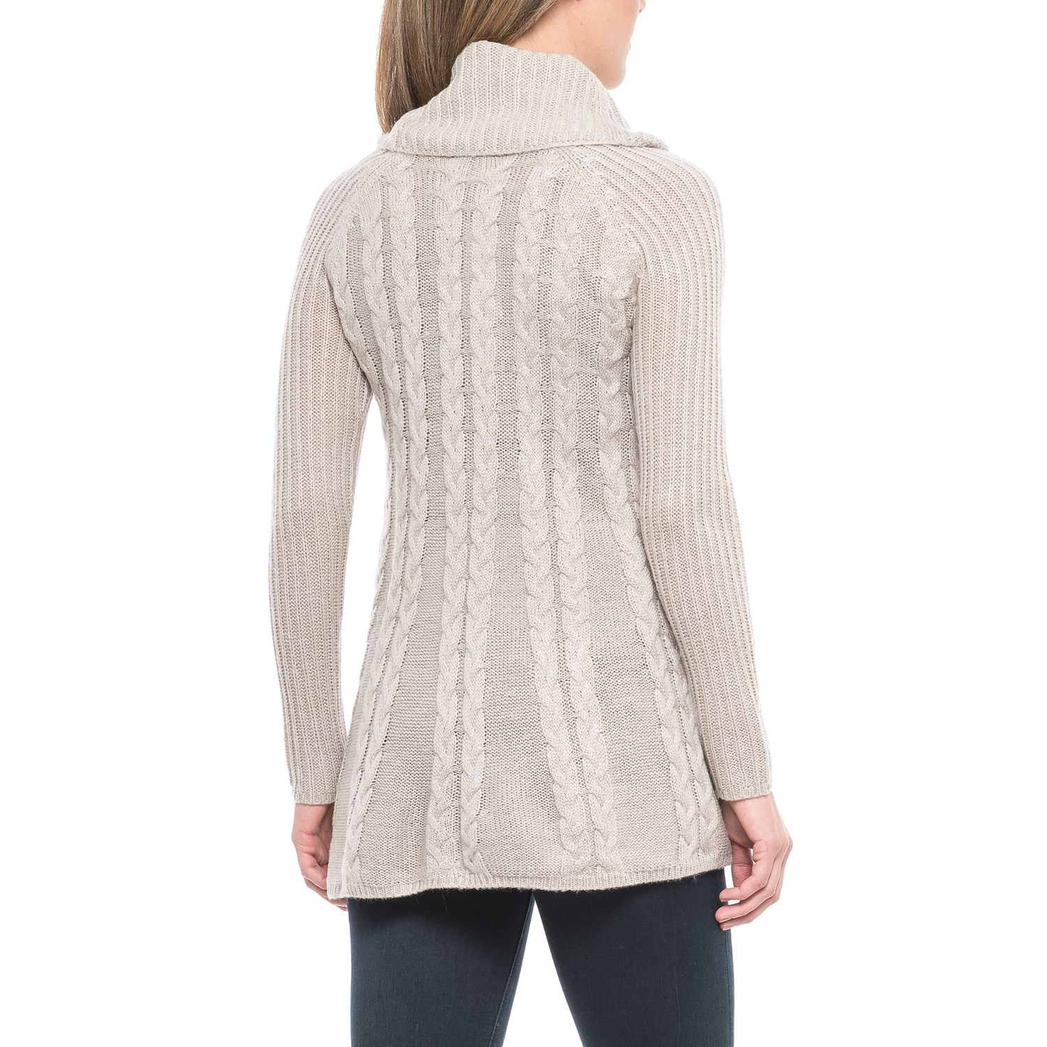 Cupio Cable-Knit Swing Sweater (For Women) - Save 59%