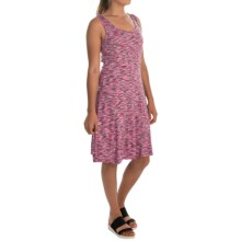 Cupio Space-Dyed Dress - Sleeveless (For Women) in Navy/Fuschia - Overstock