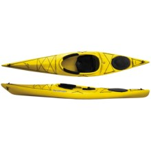 Current Designs Kestrel 120 Recreational Kayak - Rotomolded in Yellow - 2nds