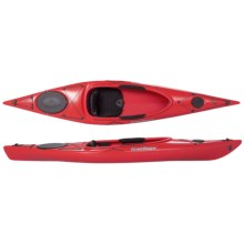 Current Designs Kestrel 120 Rotomolded Recreational Kayak - Open Cockpit in Red - 2nds