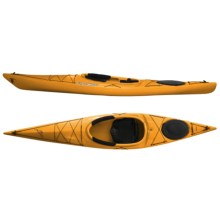 Current Designs Kestrel 120 X Recreational Kayak - High Volume, Rotomolded in Orange - 2nds