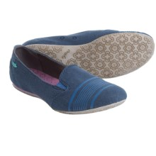Cushe Alanah Shoes - Slip-Ons (For Women) in Navy - Closeouts