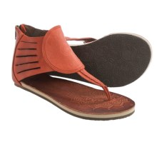 Cushe Aurora Leather Sandals (For Women) in Rose - Closeouts