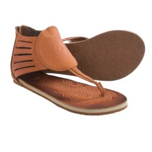 Cushe Aurora Leather Sandals (For Women) in Tan - Closeouts