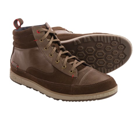 Cushe Burnside Leather Mid Shoes (For Men)