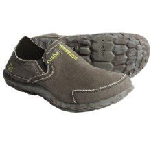 Cushe Canvas Slipper Shoes (For Men) in Black - Closeouts
