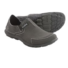 Cushe Canvas Slipper Shoes (For Men) in Dark Charcoal - Closeouts