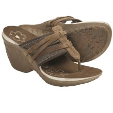 Cushe Entwine Wedge Sandals (For Women) in Brown - Closeouts