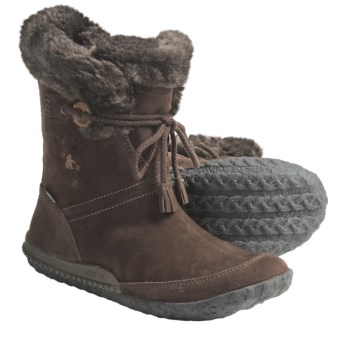 Cushe Fireside Boots - Waterproof, Leather (For Women) in Espresso Suede