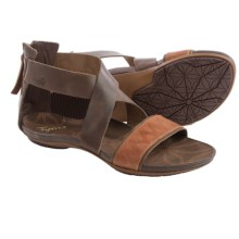Cushe Glimmer Gladiator Sandals (For Women) in Dark Brown/Tan - Closeouts