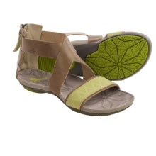 Cushe Glimmer Gladiator Sandals (For Women) in Grey/Lime - Closeouts