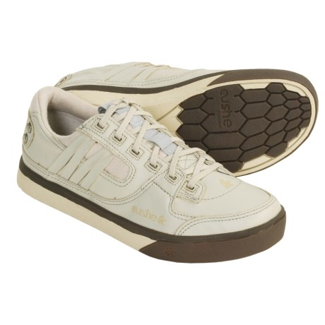 Cushe Manuka Ride Leather Sneakers (For Men) in Worn White