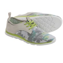 Cushe Shakra Shoes (For Women) in Light Grey/Lime Surf - Closeouts