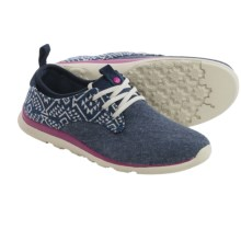 Cushe Shakra Shoes (For Women) in Navy/Aztec - Closeouts